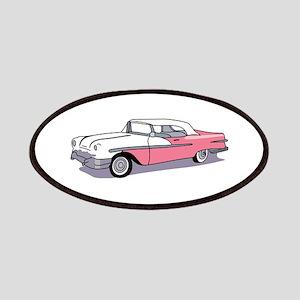 PINK CLASSIC CAR Patch