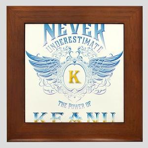 Never underestimate the power of Keanu Framed Tile