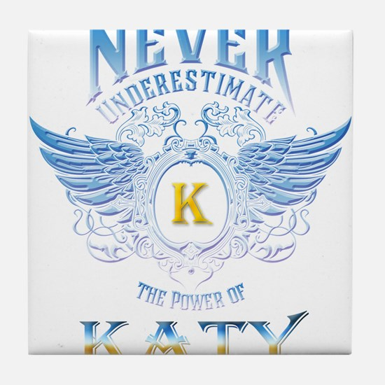 Never underestimate the power of Katy Tile Coaster