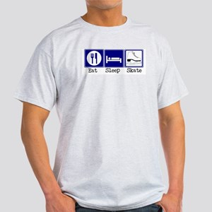 Eat, Sleep, Skate Light T-Shirt