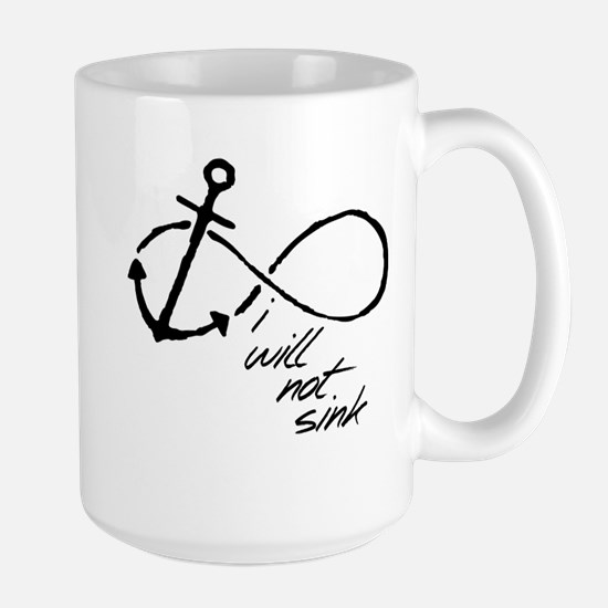 Infinity Anchor - refuse to sink Stainless Steel T