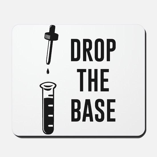 Drop the Bass Chemistry Base Mousepad
