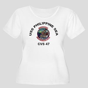 USS Philippin Women's Plus Size Scoop Neck T-Shirt
