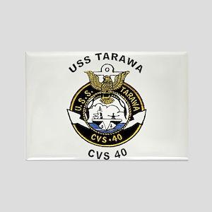USS Tarawa CVS-40 Rectangle Magnet