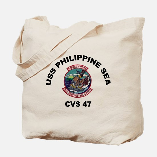 USS Philippine Sea CVS- 47 Tote Bag