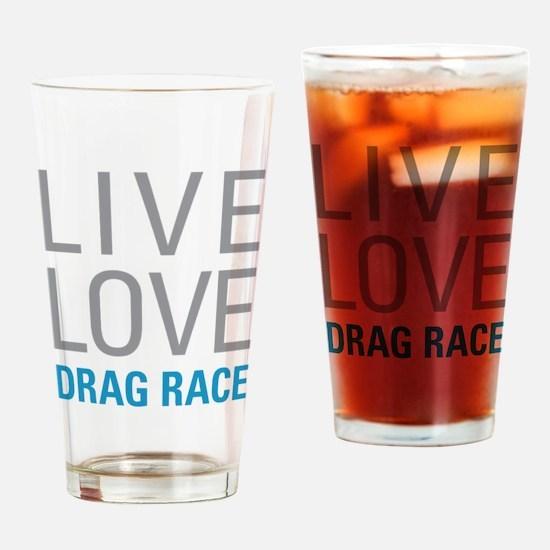 Drag Race Drinking Glass