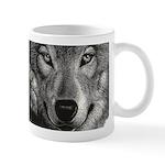 Wolf Sketch Mugs