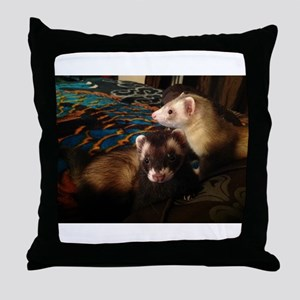 Dee Dee's Fancy Fur Throw Pillow