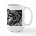 Wolf Sketch Large Mug