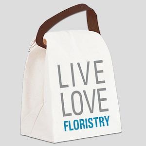 Live Love Floristry Canvas Lunch Bag