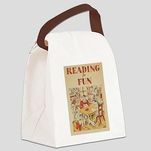 1935 Children's Book Week Canvas Lunch Bag