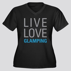 Live Love Glamping Plus Size T-Shirt