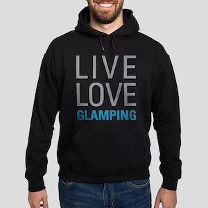 Live Love Glamping Hoodie (dark)