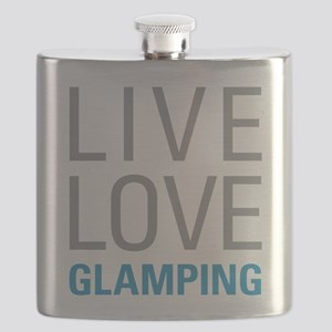 Live Love Glamping Flask