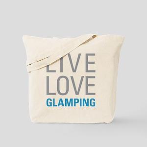 Live Love Glamping Tote Bag