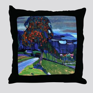 Autumn in Murnau Throw Pillow