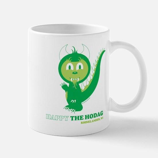 Happy the Hodag Waving Mugs
