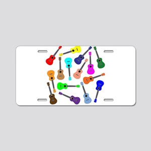 Rainbow Ukuleles Aluminum License Plate