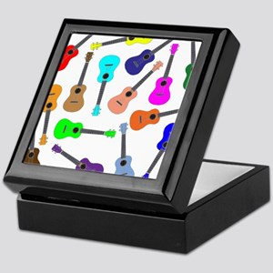 Rainbow Ukuleles Keepsake Box