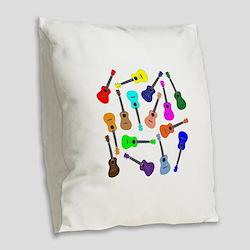 Burlap Throw Pillows