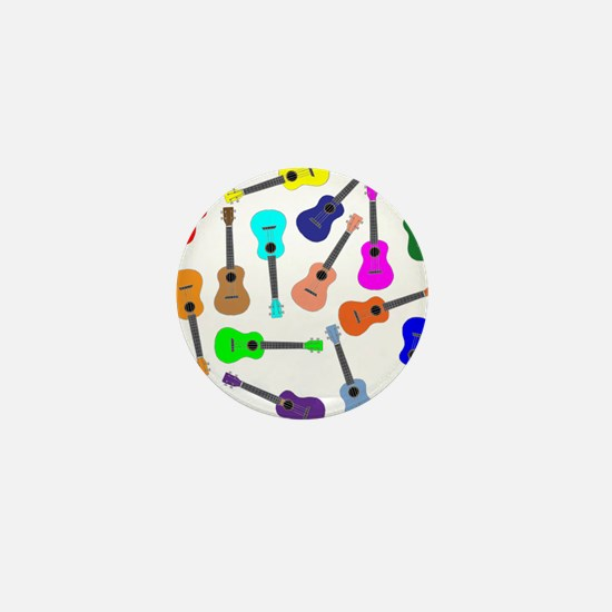 Rainbow Ukuleles Mini Button