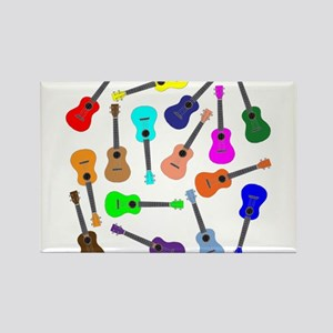 Rainbow Ukuleles Magnets
