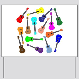 Rainbow Ukuleles Yard Sign