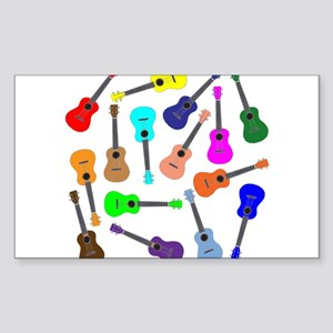 Rainbow Ukuleles Sticker
