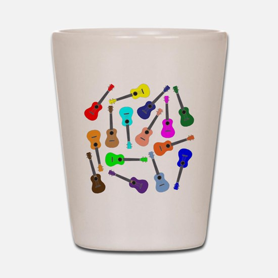 Rainbow Ukuleles Shot Glass