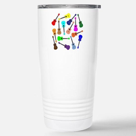 Rainbow Ukuleles Travel Mug