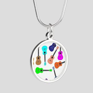 Rainbow Ukuleles Necklaces
