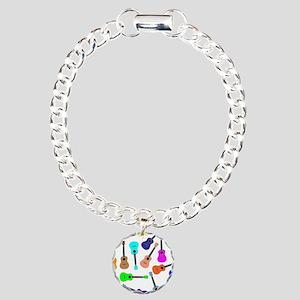 Rainbow Ukuleles Bracelet