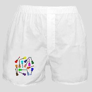 Rainbow Ukuleles Boxer Shorts
