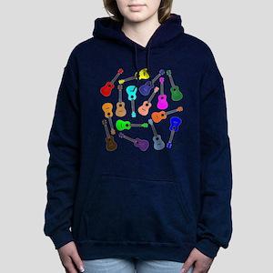 Rainbow Ukuleles Women's Hooded Sweatshirt