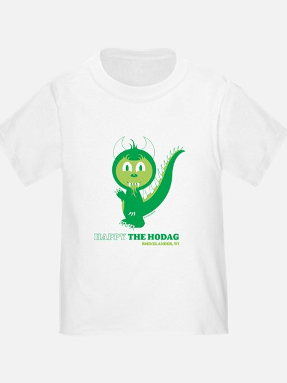 Happy the Hodag Waving T-Shirt
