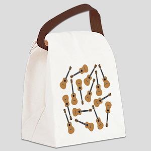 Ukuleles Ukes Canvas Lunch Bag
