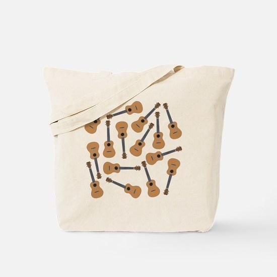Ukuleles Ukes Tote Bag