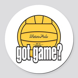 Water Polo Got Game? Round Car Magnet