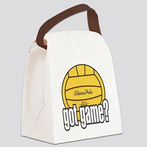 Water Polo Got Game? Canvas Lunch Bag
