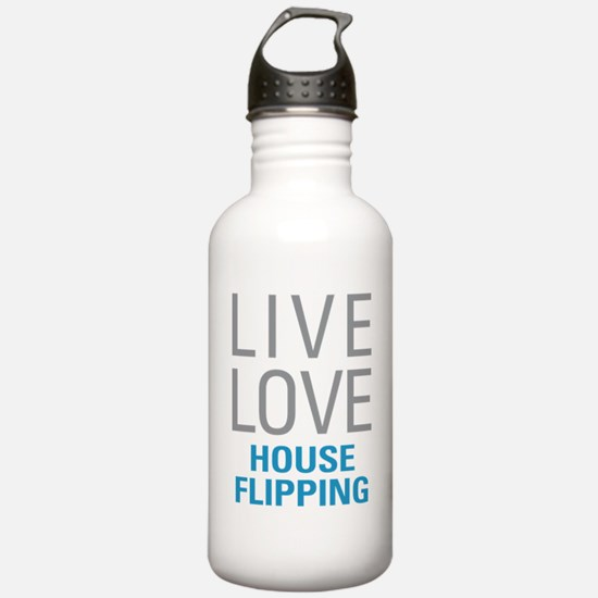 House Flipping Water Bottle