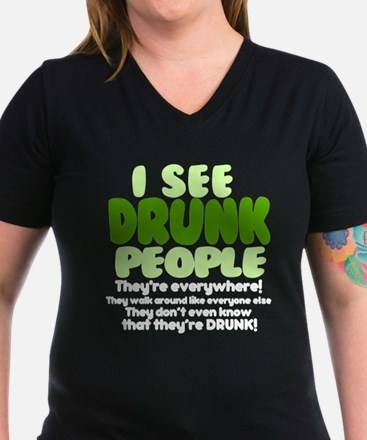 I See Drunk People Original T-Shirt