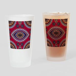 .Paisley Drinking Glass