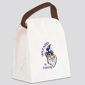 Wizard In Training Canvas Lunch Bag