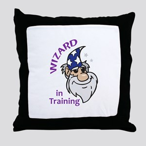 Wizard In Training Throw Pillow