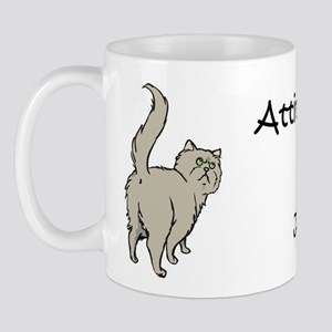 Gray Persian Tail Mug