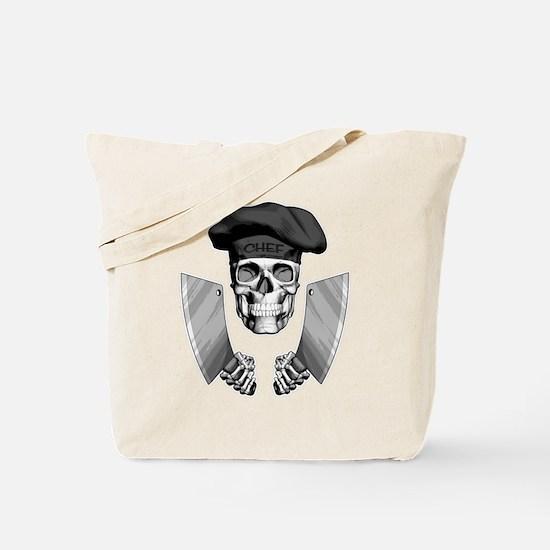 Butcher Skull Tote Bag