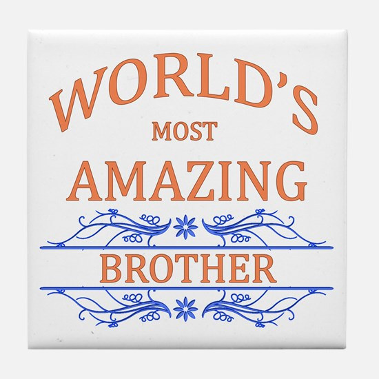 Brother Tile Coaster