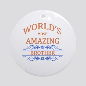 Brother Round Ornament