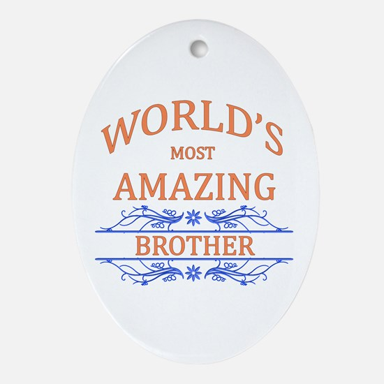 Brother Ornament (Oval)