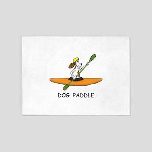 DOG PADDLE 5'x7'Area Rug